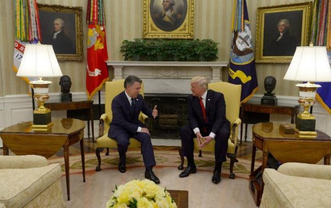 El apoyo de EEUU a la Colombia posconflicto — Santos ante Trump