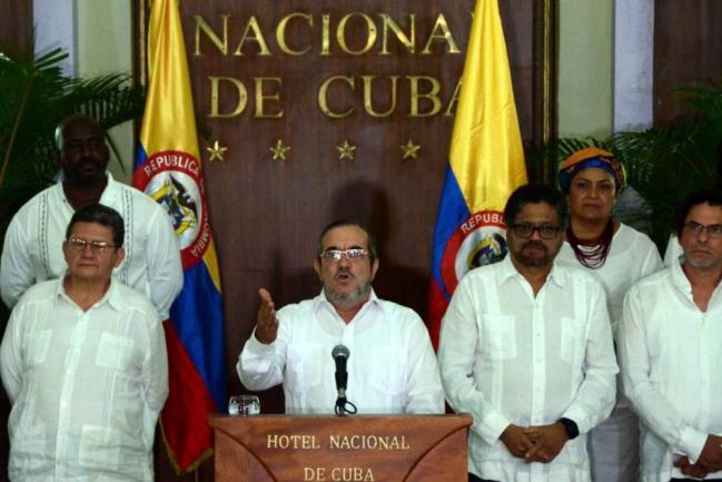 Timochenko lanza su candidatura a presidente — Colombia