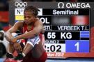 Jackeline Rentería y Carolina Castillo ya no van por el oro la lucha en Río 2016