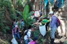 Tres toneladas de residuos sólidos fueron retirados de Las Batatas