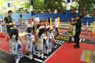 Con parque didáctico móvil, Tránsito inició talleres en los colegios