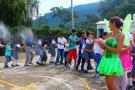 'Jugar es una nota' llega a las veredas de la capital comunera