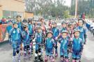Club de patinaje de Curití deja en alto a Guanentá
