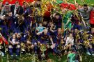 Barcelona consiguió  la cuarta copa seguida