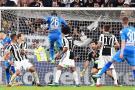 El Nápoles venció 1-0 al Juventus de Cuadrado en el minuto 90