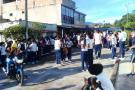 Estudiantes de Landázuri rechazaron  disminución de cobertura en el PAE