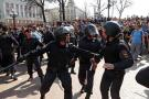 Manifestaciones contra Putin en Rusia dejan más de mil detenidos