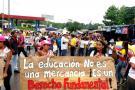 Se inició el paro nacional de maestros por 48 horas