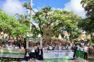 Niños del Socorro se reunieron a favor de sus derechos