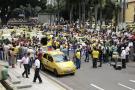Ocho razones que explican el descontento de los taxistas en Bucaramanga