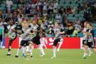 Kross y Reus salvaron a Alemania del desastre al vencer 2-1 a Suecia
