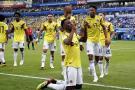Colombia venció 1-0 a Senegal y clasificó a los octavos de final