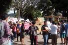 Hasta la Alcaldía llegó la protesta de Zapamanga II