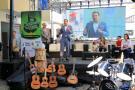 Un total de 17 instituciones del área recibieron 253 instrumentos musicales