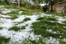 Fuerte granizada causó estragos en Santander