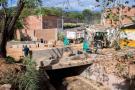 Nueva conexión vial y Parque Lineal de Bomberos se entregarán en un mes