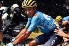 Así fue la caída de Nairo en la etapa de este jueves en el Tour