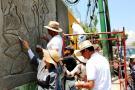 Artistas locales dejaron su huella muralista en México