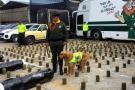 Frenan en Santander cargamento de cocaína avaluada en $1.200 millones