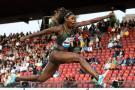 Caterine, el 'diamante'  del atletismo colombiano