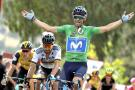 Alejandro Valverde ganó octava etapa, Nairo sigue de octavo en la general de la Vuelta