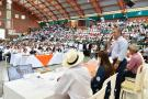 """Ayer se celebró en El Socorro, Santander, el quinto taller """"Construyendo País"""", iniciativa del Gobierno Nacional para entablar un diálogo directo con la comunidad."""