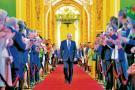 Putin pisa duro en la escena mundial