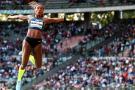 Colombiana Caterine Ibargüen se impuso en la Copa Continental