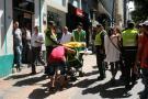 Vuelve y juega: El despeje  puso a correr a informales en Bucaramanga