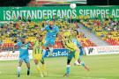 El atacante santandereano Michael Rangel realizó un brillante partido ante Jaguares, que le permitió al Atlético Bucaramanga conseguir tres puntos valiosos en sus aspiraciones de clasificar a los cuartos de final de la Liga Águila II de 2018.