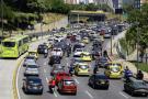 Así ha crecido el parque automotor en el área metropolitana de Bucaramanga