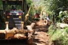 Ayer se inició el arreglo de las vías secundarias locales