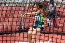 Carolina Ulloa fue sexta en lanzamiento de martillo