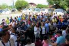 La vicepresidenta la República, Marta Lucía Ramírez, concluyó ayer su recorrido en la ciudad en el Parque Recreacional, donde fueron reubicadas más de 10 personas del asentamiento Altos de Bellavista, quienes se encontraban en zona de riesgo.
