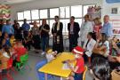Inauguran remodelación de aula hospitalaria para niños con cáncer