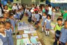 Niños se movilizaron por la paz en Girón