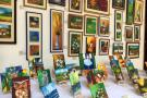 Artistas donaron sus obras en pro de Asilo San Rafael