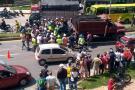Murió motociclista que fue arrollado por una volqueta en Piedecuesta