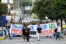 Gremio de la salud marchó este lunes por las calles de Bucaramanga