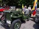 Clemente Galvis y su Jeep Willys.
