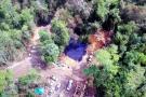 Así se ve desde el aire el desastre ambiental tras el derrame de crudo en Santander
