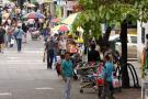 """Vendedores informales regresaron a las calles de Bucaramanga por """"incumplimientos"""""""