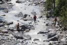 Aumento del caudal de un río en Italia deja diez personas fallecidas