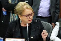 La senadora cristiana Emma Claudia Castellanos es la autora del proyecto que fue radicado en el Congreso de la República para crear el Ministerio de la Familia.