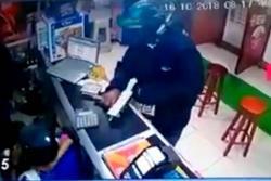 Con una Mini Uzi asaltaron un corresponsal bancario en Puerto Boyacá