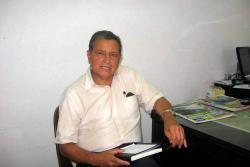 """""""La recolección de más de diez millones de pesos servirá para terminar la estructura metálica de 35 toneladas"""", Párroco Salomón Pineda Martínez."""