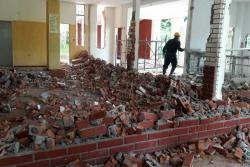Según el informe de la Alcaldía de Floridablanca solo se ha avanzado con la etapa de demolición.