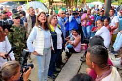 Vicepresidenta llegó a Barrancabermeja para atender la emergencia