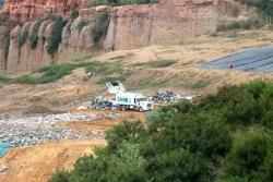 Al relleno sanitario de El Carrasco llegan aproximadamente mil toneladas diarias de basura procedentes de Bucaramanga y 14 municipios más del departamento.