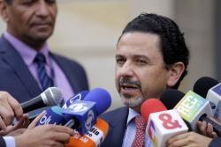Miguel Ceballos, Alto Comisionado de paz, quien asegura que el Eln sigue reclutando niños.